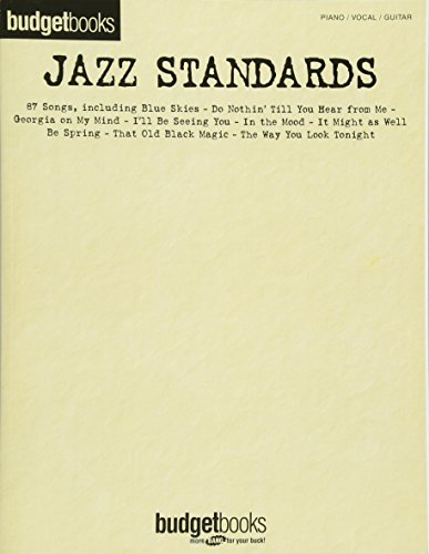 9780634040634: Jazz Standards (Budget Books)