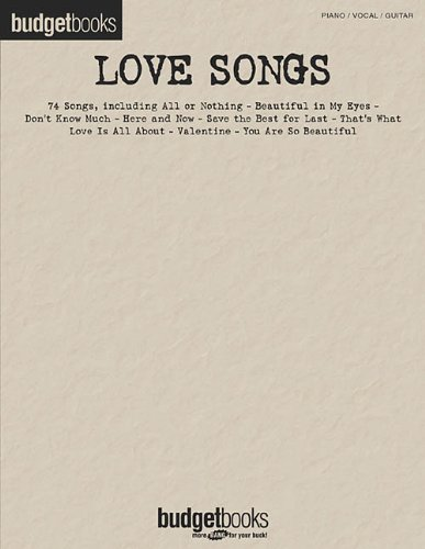 9780634040719: Love Songs: Budget Books