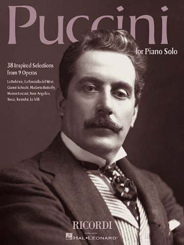 9780634040986: Puccini for Piano Solo: 38 Inspired Selections from 9 Operas
