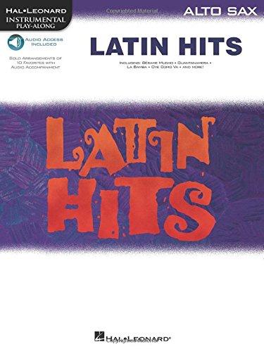 9780634041617: Latin Hits - Instrumental Play Along for Alto Sax