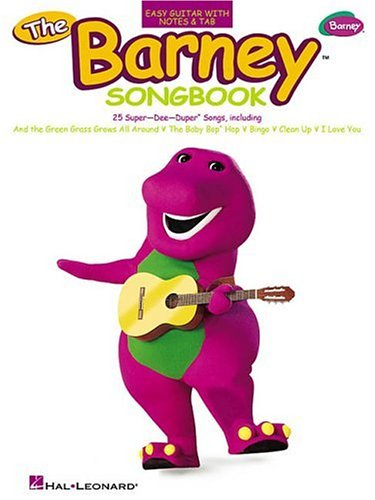 9780634041877: The Barney(TM) Songbook: 25 Super-Dee-Duper(TM) Songs Easy Guitar with Notes and Tab