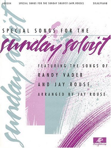 9780634042270: Special Songs for the Sunday Soloist
