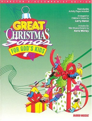 9780634042348: Great Christmas Songs for God's Kids