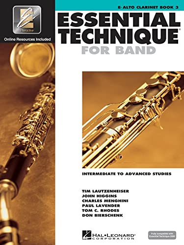 Essential Technique 2000: E Flat Alto Clarinet, Level 3 (Essential Elements Method) (9780634043635) by Various