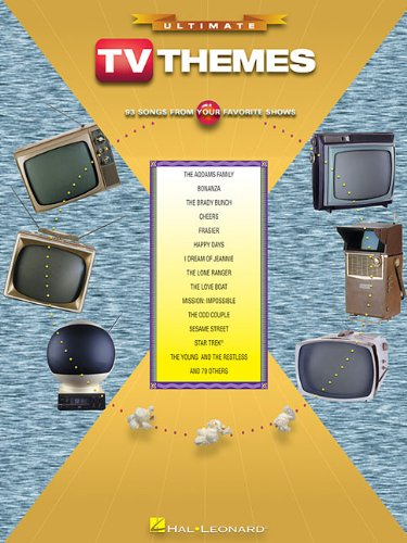 9780634043826: Ultimate TV Themes - 93 Songs From Your Favorite Shows (Ultimate (Hal Leonard Books))