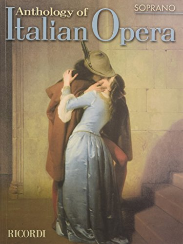 9780634043864: Anthology of Italian Opera: Soprano