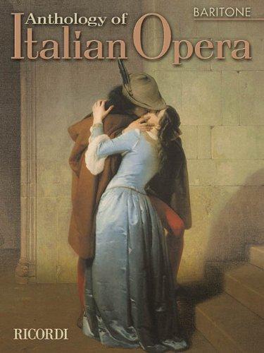 9780634043895: Anthology of Italian Opera: Baritone