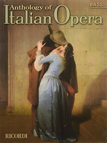 9780634043901: Anthology of Italian Opera (Bass)