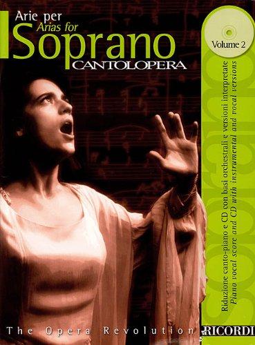 9780634043918: Arias for Soprano (Cantolopera Collection Ricordi)