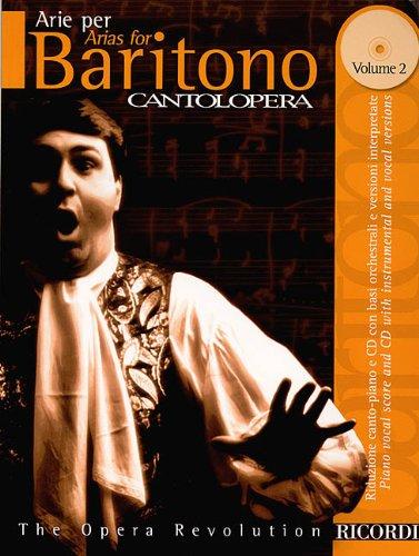 9780634043949: Arias for Baritono / Arie per baritono (Cantolopera, Vol. 2) (The Opera Revolution) (Book and CD) (English and Italian Edition)
