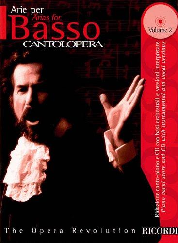 9780634043956: Arias for Bass (Cantolopera Collection Ricordi)