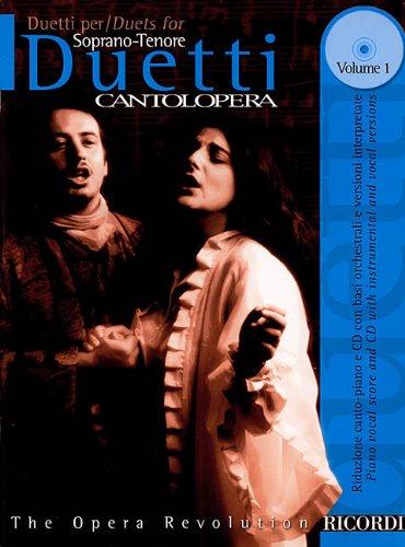 9780634043963: Duets for Soprano/Tenor: 1 (Cantolopera)