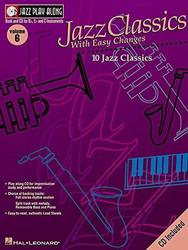 9780634044052: JPA V.6 JAZZ CLASSICS + CD (Jazz Play Along)
