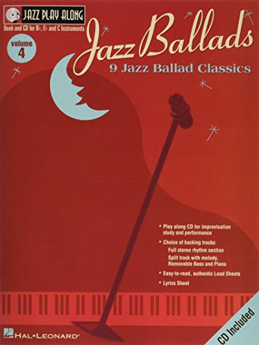 9780634044069: Jazz Ballads: Jazz Play-Along Volume 4 (Jazz Play-Along Series)