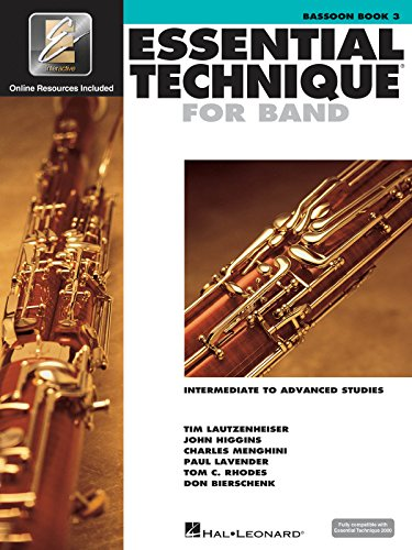 9780634044113: Essential Technique 2000: Bassoon Book 3 (Essential Elements Method)