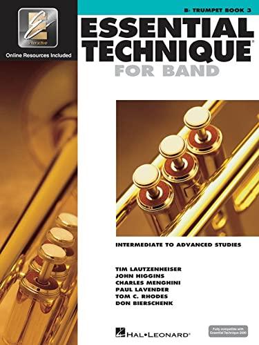 9780634044175: Essential Technique for Band Trompette +Enregistrements Online