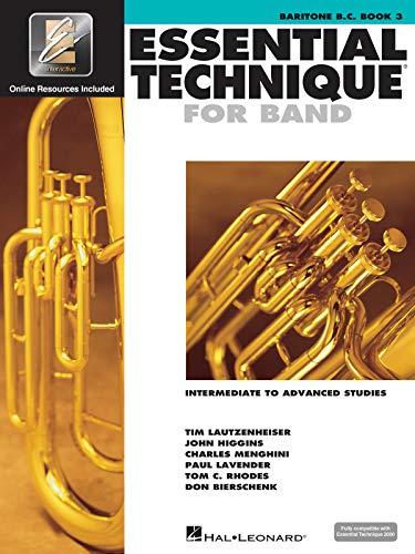 Essential Technique 2000: Baritone B.C.: Leonard Corporation, Hal