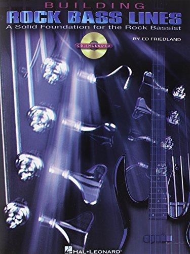9780634044601: Building Rock Bass Lines Bgtr Book/Cd