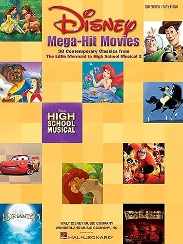 9780634045141: Disney Mega-Hit Movies: 37 Contemporary Classics : Easy Piano