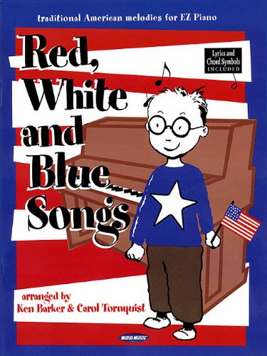 9780634045240: Red, White and Blue Songs: Arranged for Big-Note Piano