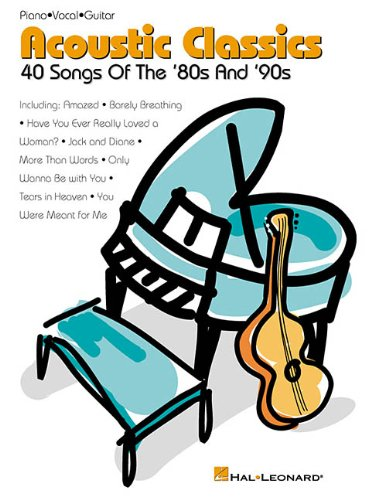 9780634045950: Acoustic Classics: 40 Songs of the '80s and '90s (Piano/Vocal/Guitar Songbook)