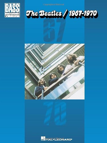 9780634046094: The Beatles/1967-1970: Bass Recorded Versions