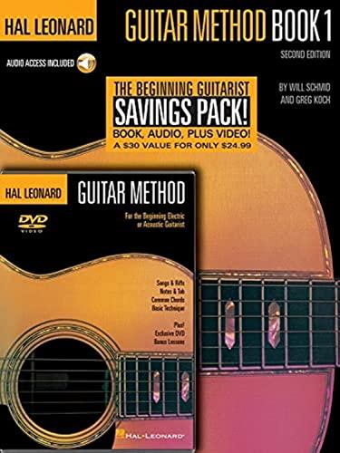 9780634046599: Hal Leonard Guitar Method Book 1: Book/CD Package