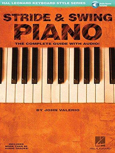 9780634046636: Stride and swing piano piano+CD (Hal Leonard Keyboard Style)