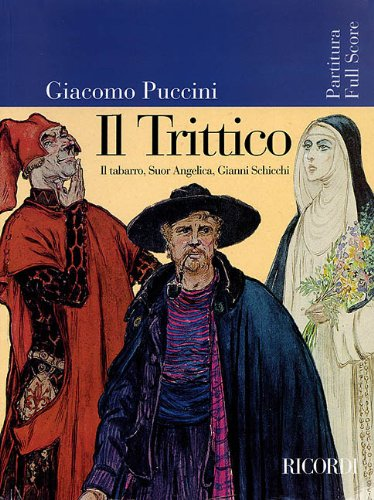 9780634046797: Puccini - Il trittico: Opera Full Score