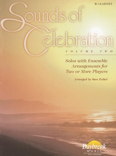 9780634046834: Sounds of Celebration - Volume 2 Solos with Ensemble Arrangements for Two or More Players