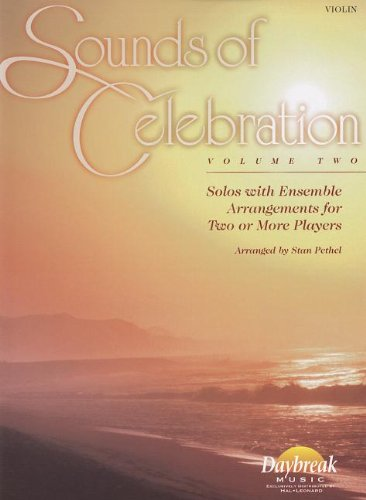 9780634046889: Sounds of Celebration - Volume 2 Solos with Ensemble Arrangements for Two or More Players