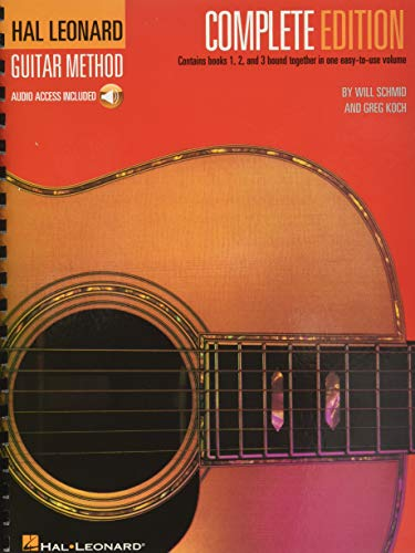 9780634047015: Hal Leonard Guitar Method, Complete Edition: Books 1, 2 and 3