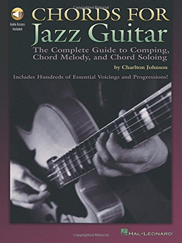 9780634047145: Chords for jazz guitar guitare+CD