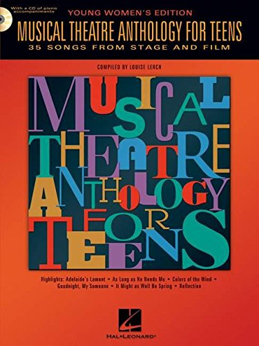 9780634047633: Musical Theatre Anthology for Teens Young Women's Edition Softcover Audio Online