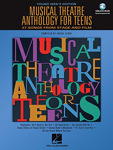 9780634047640: Musical Theatre Anthology for Teens: Young Men's Edition - Book/online audio (Vocal Collection)