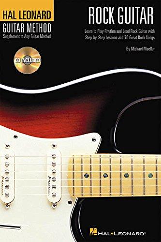 9780634047725: Hal Leonard Rock Guitar Method: 6 Inch. X 9 Inch. Edition (Hal Leonard Guitar Method (Songbooks))