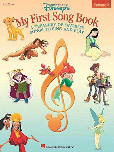 9780634047923: Disney's My First Songbook: A Treasury of Favorite Songs to Sing and Play : Easy Piano: 2