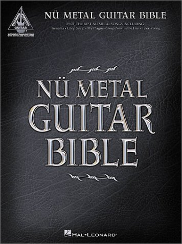 Nu Metal Guitar Bible: 35 Modern Metal Songs: Hal Leonard Corp.