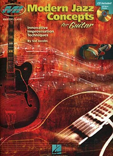9780634048258: MODERN JAZZ CONCEPTS FOR GUITAR BK/CD (Musicians Institute: Master Class)