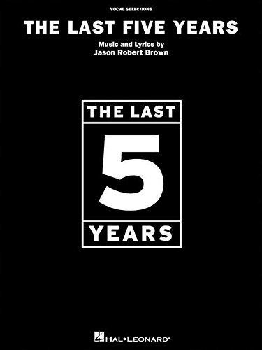 9780634048289: The last five years - vocal selections piano, voix, guitare