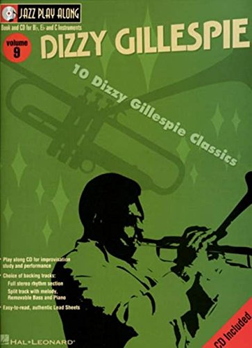 9780634048906: Dizzy Gillespie: Jazz Play-Along Volume 9 (Hal Leonard Jazz Play-Along)
