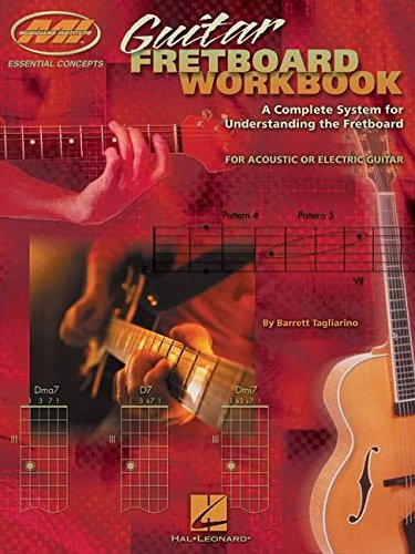 9780634049019: Barrett Tagliarino: Guitar Fretboard Workbook (Musicians Institute: Essential Concepts)