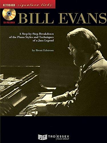 9780634049163: Bill Evans Bk/CD Keyboard Signature Licks