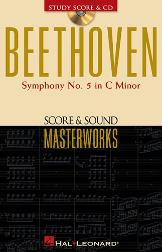 9780634049590: Beethoven - Symphony No. 5 in C Minor, Op. 67: Score and Sound Masterworks (Score & Sound Masterworks)