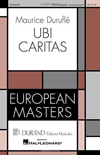 Ubi Caritas: Durufle, Maurice