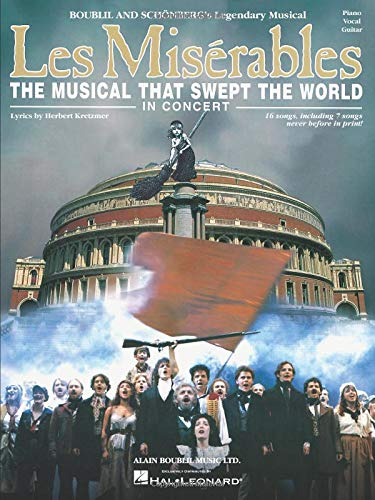 9780634050039: Les Miserables in Concert: The Musical That Swept the World
