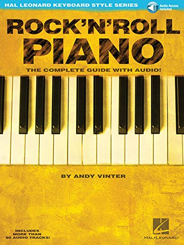 9780634050466: Rock'n'roll piano piano+CD (Hal Leonard Keyboard Style)