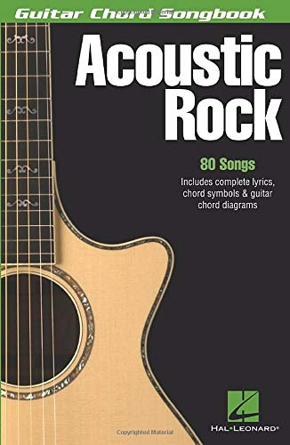 9780634050619: Acoustic Rock: Guitar Chord Songbook (6 inch. x 9 inch.)
