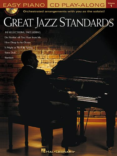 9780634050831: GREAT JAZZ STANDARDS VOLUME 1 BK/CD EASY PIANO CD PLAY-ALONG (Easy Piano CD Play-Along (Hal Leonard))