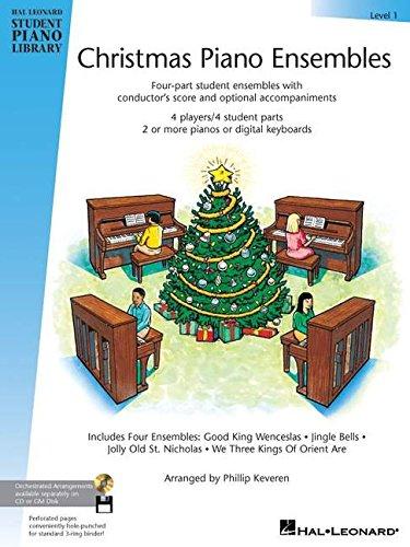 9780634051180: Christmas Piano Ensembles Level 1 HLSPL (Hal Leonard Student Piano Library)